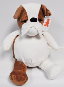 EB Embroider Buster Bulldog 41cm Embroidery Stuffed Animal