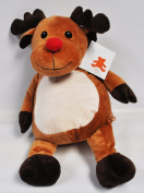 EB Embroider Randy Reindeer 41cm Embroidery Stuffed Animal