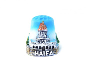 "Thimble Souvenir From Israel & Palestine Sewing Holyland Thimbles Collection ""Haifa"""