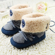 2015 First Walkers Boots Baby Shoes Winter Crib Shoes T-tied Plushed Baby Boy's Boots Warm