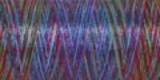 Sulky Of America 60wt Variegated Polylite Thread, 1650 yd, Mardi Gras