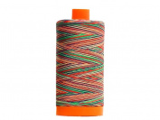 Aurifil Mako Cotton Quilting Thread 50 wt. Variegated Crayons 1420 yd.