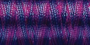 Sulky Of America 268d 40wt 2-Ply Variegated Rayon Thread, 850 yd, Blue/Fuchsia/Purple