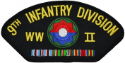 9th Infantry Division WWII Patch