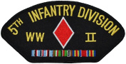 5th Infantry Division WWII Hat Patch