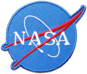 NASA USA Space Centre Logo Flight Jacket T-shirt Uniform Patch Sew Iron on Embroidered Sign Badge Costume