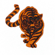 Bengal Tiger Largest Cat Apex Predator Embroidered Patch
