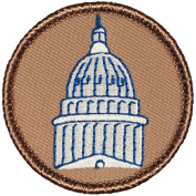 Capital Dome Patrol Patch - 5.1cm Diameter Round Embroidered Patch