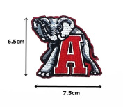 Alabama Crimson Tide Sport Logo Embroidered Iron on Patch