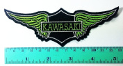 3 Patch Kawasaki Patch Motorbike Motorsport Motorcycles Biker Racing Logo Patch Sew Iron on Jacket Cap Vest Badge Sign