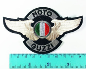 3 Patch Moto Guzzi Patch Motorbike Motorsport Motorcycles Biker Racing Logo Patch Sew Iron on Jacket Cap Vest Badge Sign