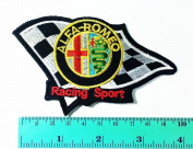 3 Patch Alfa Romeo Motorsport Car Racing Sport Automobile Car Motorsport Racing Logo Patch Sew Iron on Jacket Cap Vest Badge Sign