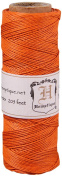 Hemptique Hemp Cord Spool Orange, 4.5kg.