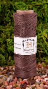 Hemptique Hemp Cord Spool, 4.5kg., Dark Brown