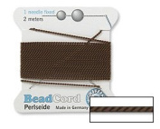 Gryphon Bead Cord Nylon Brown #2