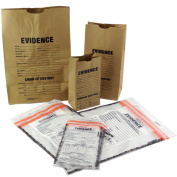 Evidence Bags, Paper and Plastic Sample Pack