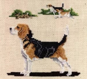 Pegasus Originals Beagle full body Counted Cross Stitch Chart Pack