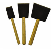 Jen Mfg 82826301233 Jen Poly Brush Contains 1-each of the 2.5cm , 5.1cm and 7.6cm Brush, 3-Pack