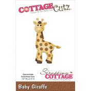 CottageCutz Die Cuts, 3.6cm by 5.8cm , Baby Giraffe