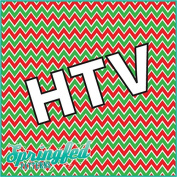 CHEVRON PATTERN #3 HTV Christmas Colours Red & Green Heat Transfer Vinyl 30cm x 38cm Army Camouflage for Shirts