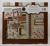 Colorbok Shabby Chic 30cm x 30cm Scrapbook Kit