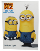 Dispicable Me 2 Big fun Book to Colour Yellow Ops Colouring Book