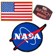 NASA Patches #30 - Save Pack - 6Patch