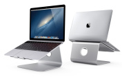 Spinido® TI-Station Premium Quality Aluminium Cooling Laptop stand for Apple Macbook and All Notebooks