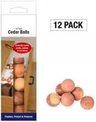 Pack of 12 Cedar Balls Cedar Balls Cubes Natural Wood Moth Reppellent Clothes Freshener Mildew Mustiness