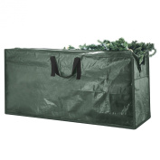 Elf Stor Premium Christmas Tree Bag Holiday Dark Green Extra Large For 2.7m Tree