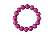 MyBoo Autism/Sensory/Teething Chewable Beads Bracelet - Magenta