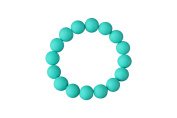 MyBoo Autism/Sensory/Teething Chewable Beads Bracelet - Turquoise