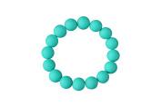 MyBoo Autism/Sensory/Teething Chewable Beads Bracelet - Turquoise