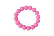 MyBoo Autism/Sensory/Teething Chewable Beads Bracelet - Pink