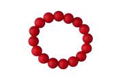 MyBoo Autism/Sensory/Teething Chewable Beads Bracelet - Scarlet Red