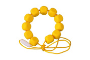MyBoo Autism/Sensory/Teething Chewable Funky Square Beaded Necklace - Yellow