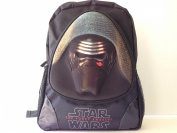 3D Star Wars the Force Awakens Black Large Backpack