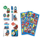 Thomas the Tank Engine & Friends Kids Party Favours! Temporary Thomas the Train Tattoos & Thomas the Tank Engine Stickers 24ct