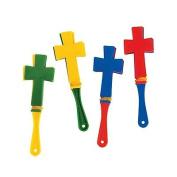 Mini Cross-Shaped Clappers 2 units