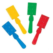 Colour Brick Party Hand Clappers ~24 pack