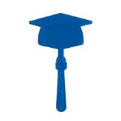 Blue Graduation Mortar Board Clapper ~24 pack