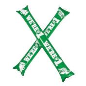 Green Team Spirit Boom Sticks