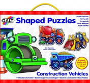 Galt Toys Inc Shaped Construction Vehicles Puzzle by Galt Toys Inc