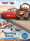 Disney Planes & Disney Pixar Cars Roaring Races  : A Cool Coloring Book