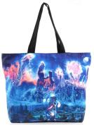 THENICE Women's Fashion Retro Printing Shopping Shoulder Bags