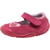 Kids Hush Puppies First Love Shoes Pink Suede Childs Junior