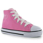 Dunlop Kids Childrens Junior Footwear Canvas High Top Trainers Shoes
