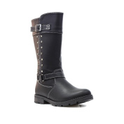 Lilley Girls Biker Style Boot with Stud