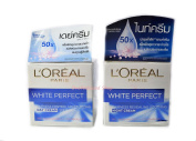 L'OREAL Paris Perfect Transparent Rosy Whitening Night Cream and DAY CREAM SPF 17 PA++