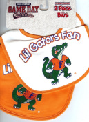 University of Florida NCAA Gators Fan 2 Pack Bibs